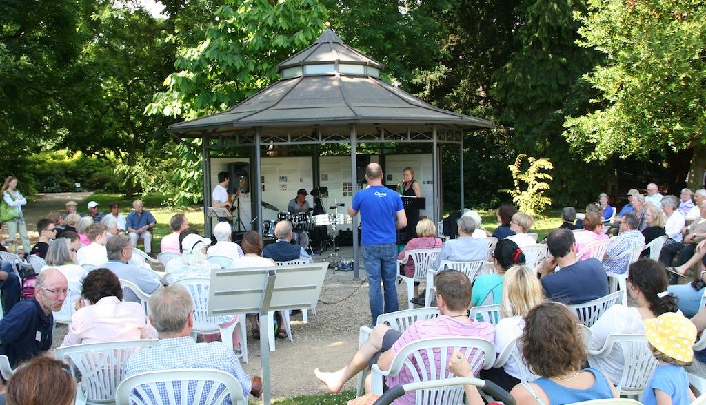 Jazzpack Cologne im Botanischen Garten Bonn im Juli 2014