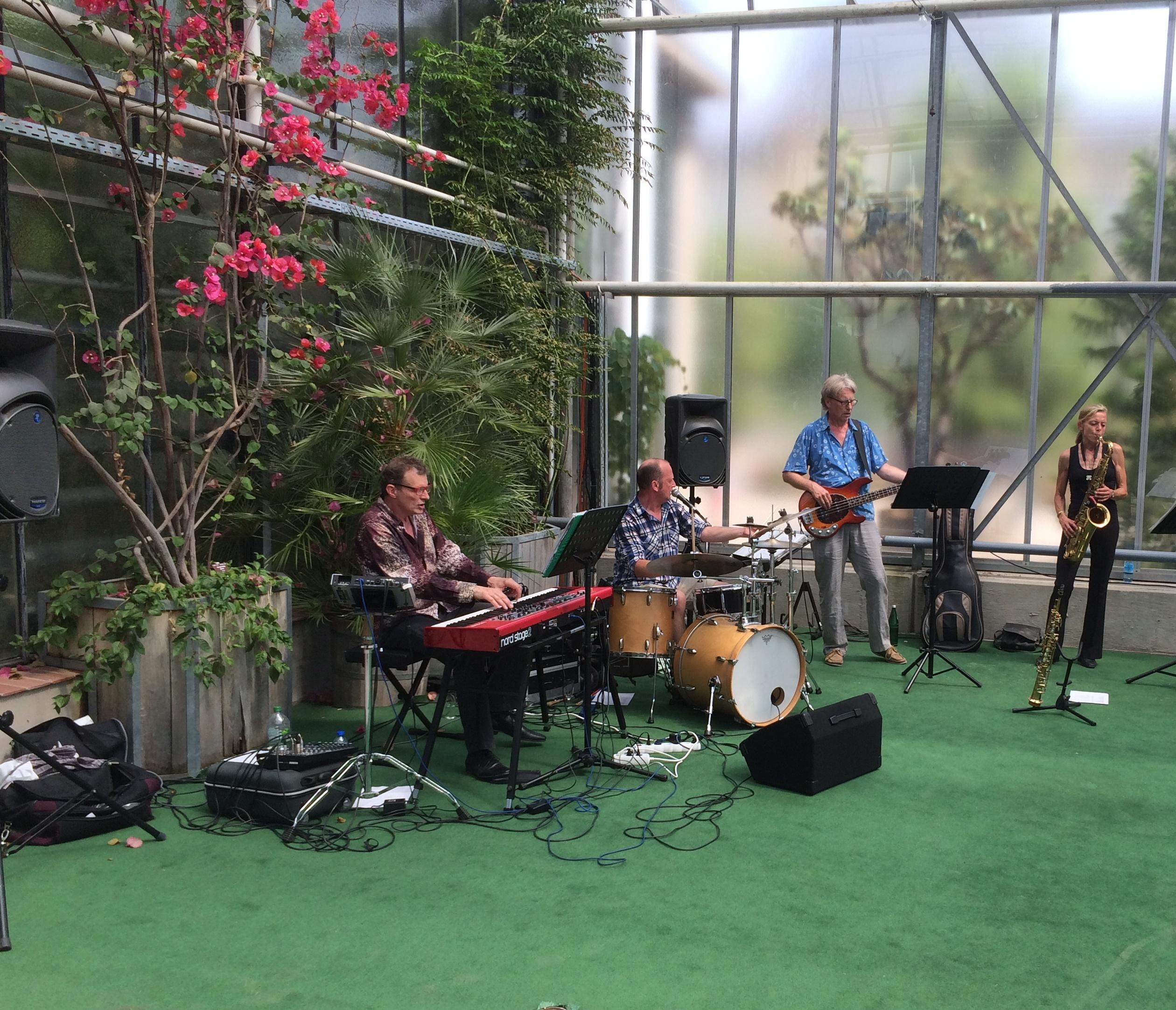 Jazz-Matinee im Botanischen Garten Bonn – Harmonie und Drive